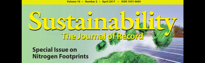 Special issue on nitrogen footprints